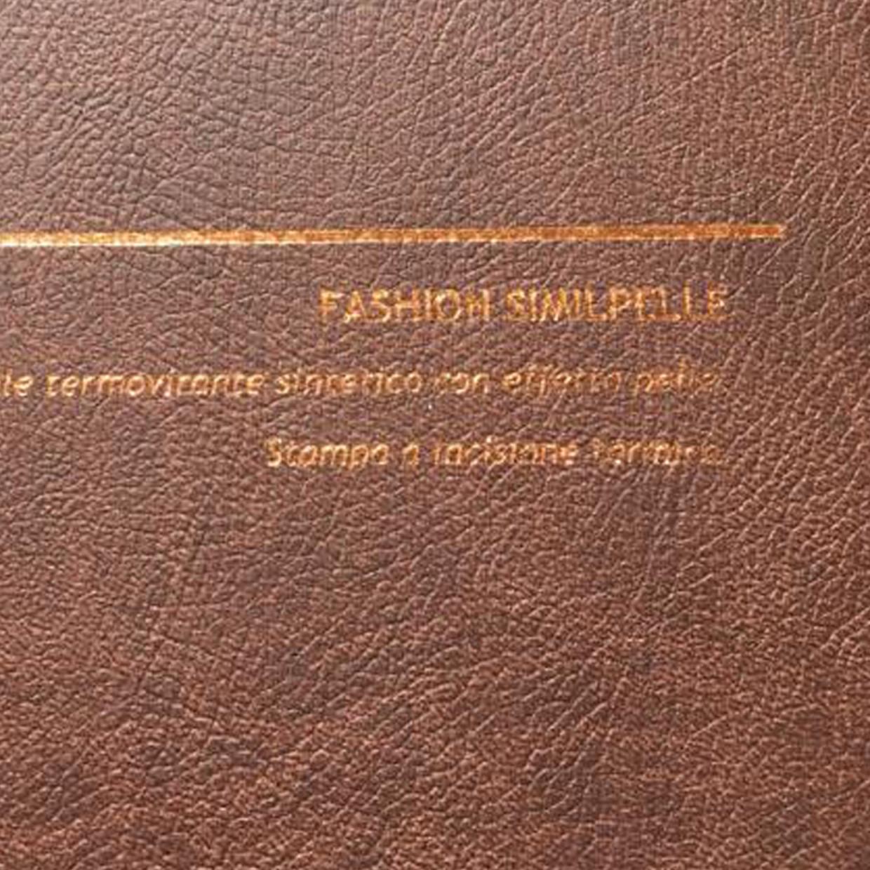 COVER FASHION SIMILPELLE MARRONE: copertine rivestite con un elegante e prestigioso materiale termovirante sintetico con effetto pelle.