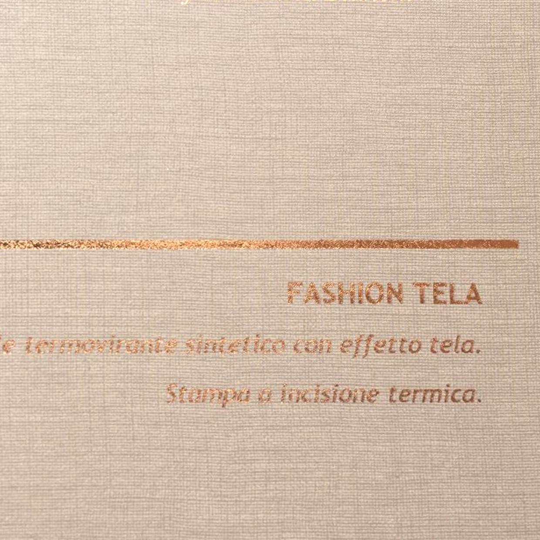 COVER FASHION TELA CANAPA: copertine rivestite con un elegante e prestigioso materiale termovirante sintetico con effetto tela.